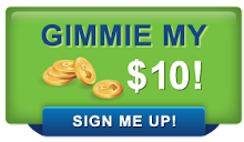 Pay-it-forward, earn it back! We give you the $10 you need to get started!