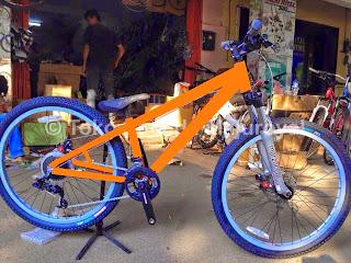 Paket Murah Merakit Sepeda DJ Sram Fork Marzocchii