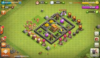 memperbanyak gold dan elixir clash of clans