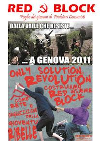 """""""foglio"""" distribuito a Genova 2011"""