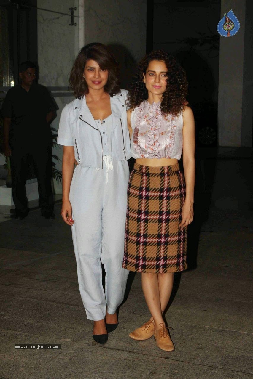 Bolly celebs at kangana ranaut hosted party