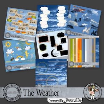 Happy Scrap Arts ::  The Weather Bundle