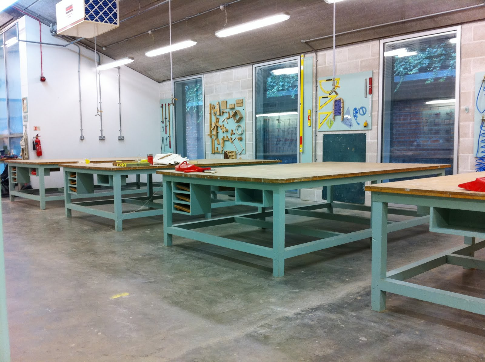 The Large Worktables