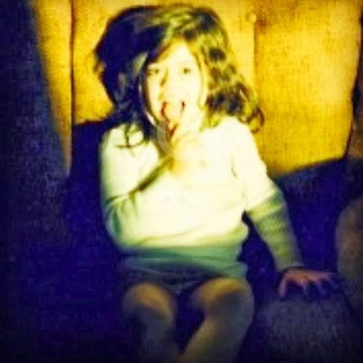 Leyla A as an evil baby