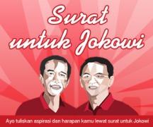 Surat untuk Jokowi