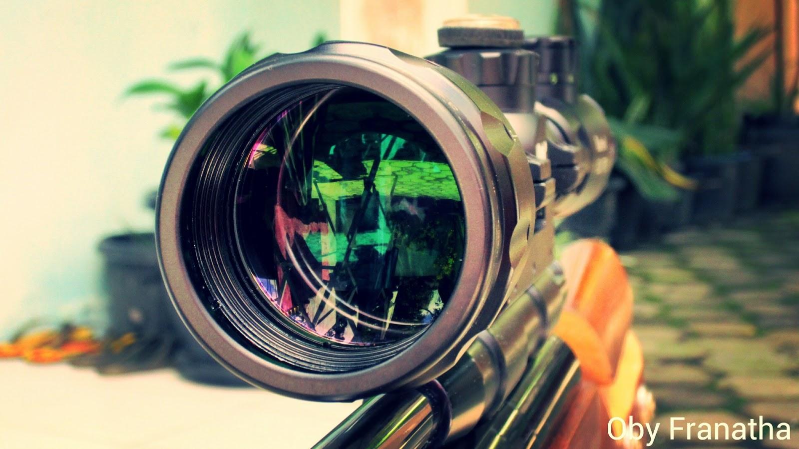 Borneo hunting: tentang telescope senapan