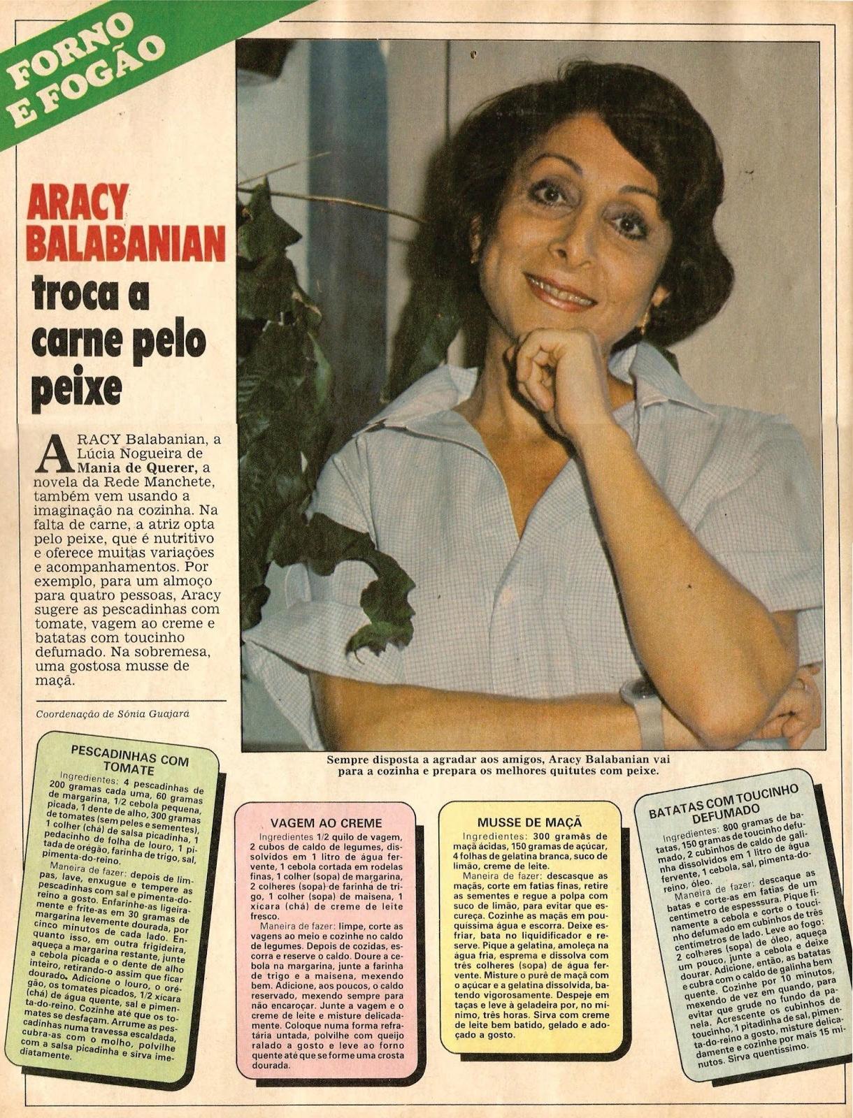 Aracy Balabanian Awesome revista amiga e novelas: aracy balabanian