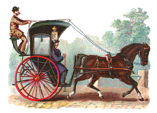 horse image vintage buggy graphic
