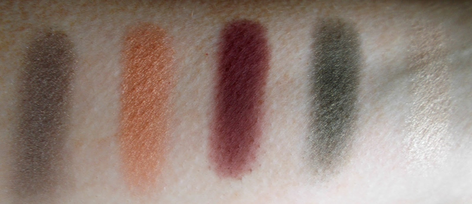 In the Balm of your Hand eyeshadow swatches
