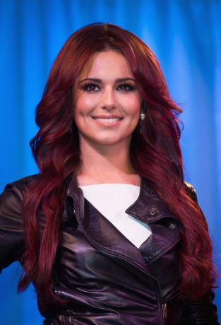 Cheryl Cole Red Hair Extensions. Cheryl Cole