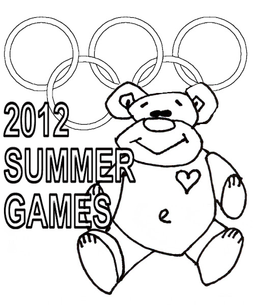 summer olympic sports coloring pages - photo#31