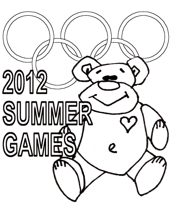 2012 summer games olympics coloring pages title=