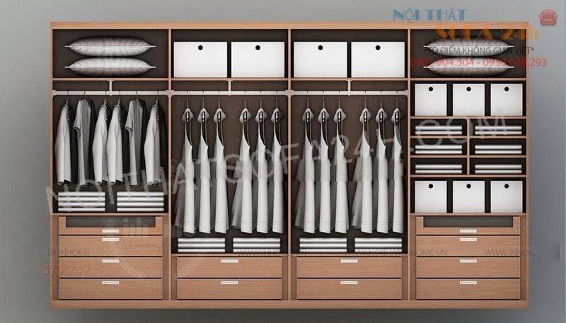 Tủ áo TA058