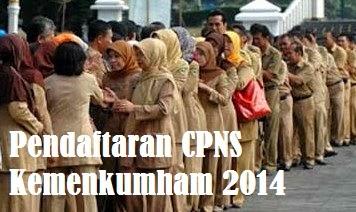 Pendaftaran CPNS Kemenkumham