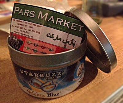 Exotic Melon Blue Starbuzz Shisha Tobacco at Pars Market Columbia Maryland 21045