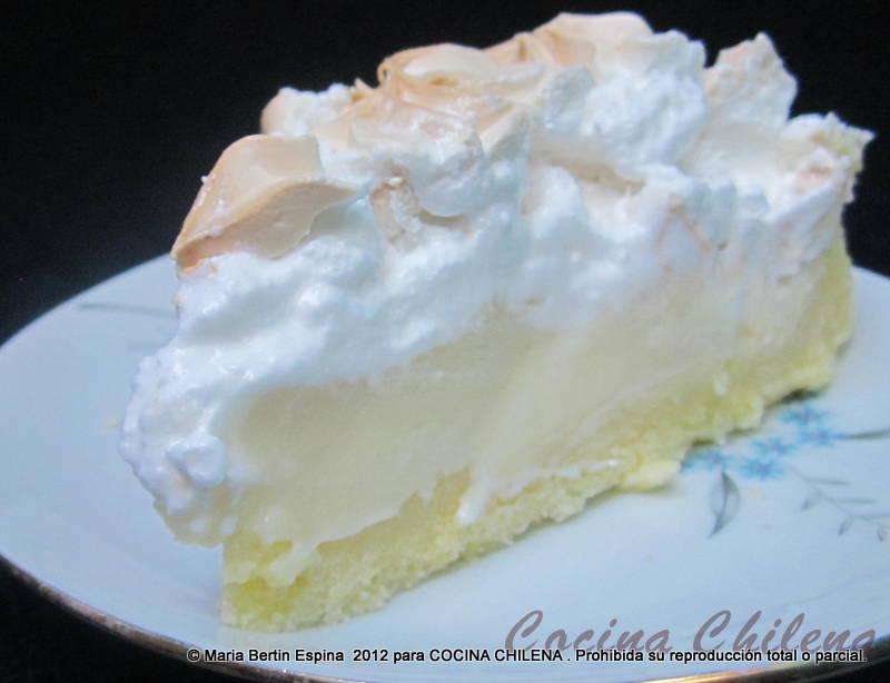 receta de pie de limon casero