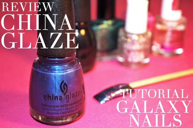 China Glaze Galaxy Nails