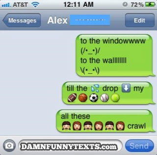 Funny LOLs: Great use of Emoji there!