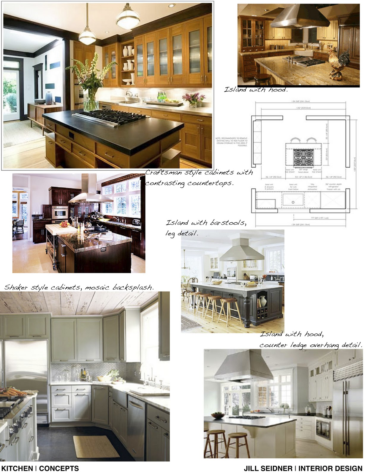 Jill Seidner Interior Design: Yang & Jean Kitchen