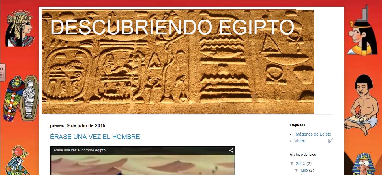 BLOG PROYECTO DE EGIPTO