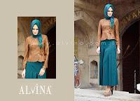 Alvina 2013 Yeni Sezon Tesettür Etek Modelleri
