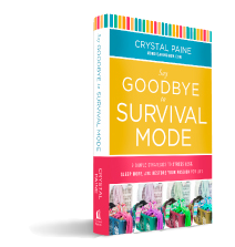 Say Goodbye to Survival Mode by Crystal Paine (reviewed by Created for Learning, a Teachers Pay Teachers author)