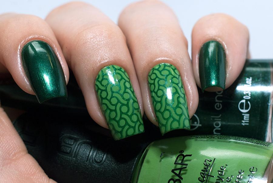 Nubar Green Tea + Flormar 435 + Moyou Pro Collection - 07