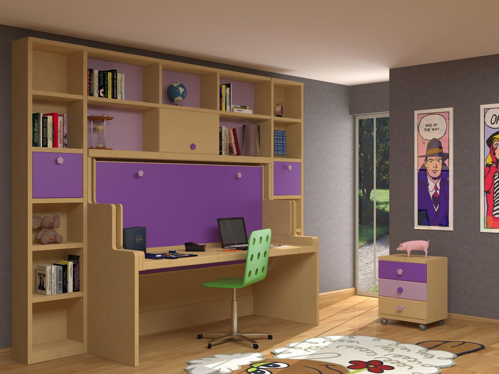 Muebles juveniles dormitorios infantiles y habitaciones juveniles en madrid muebles parchis for Cama escritorio juvenil