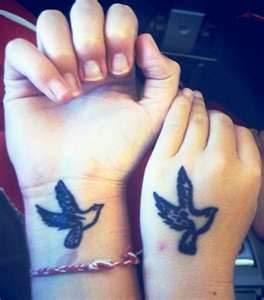 small best friend tattoo