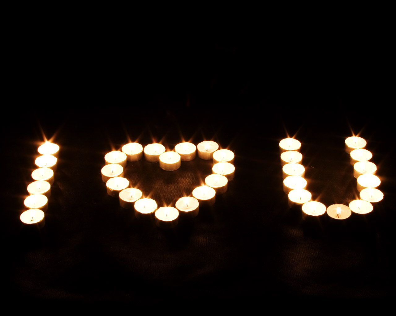 candle i love u sign love wallpapers romantic