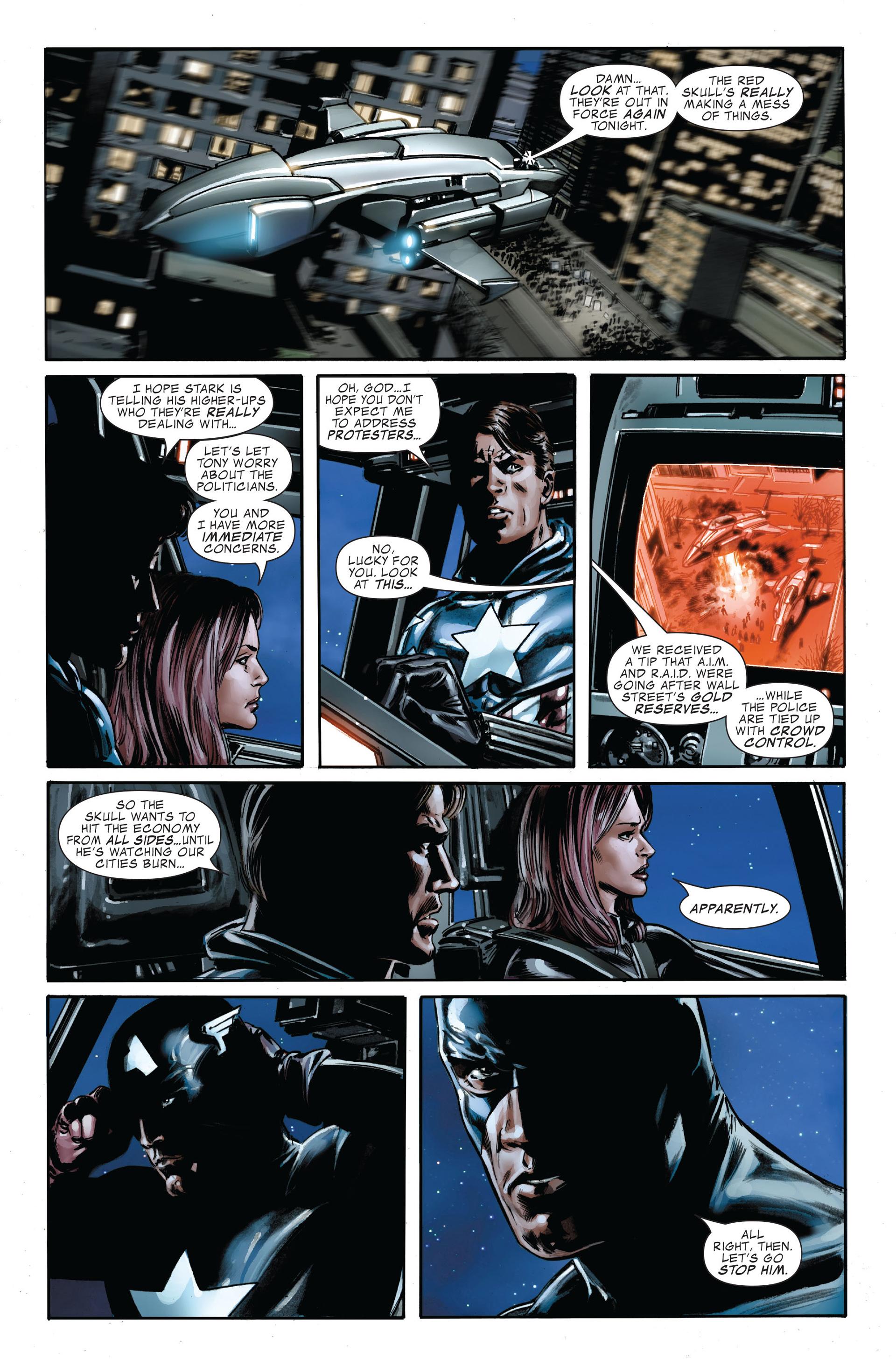 Captain America (2005) Issue #34 #34 - English 8