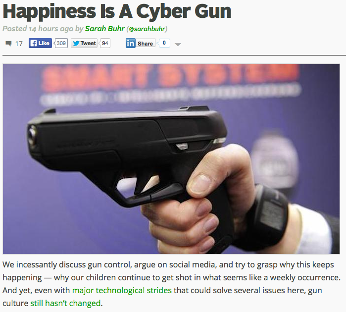 http://techcrunch.com/2014/06/12/happiness-is-a-cyber-gun/