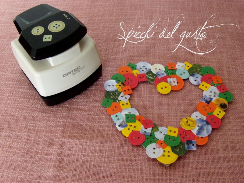 Cuoricino con bottoni