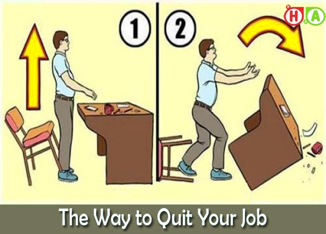 The Way to Quit Your Job