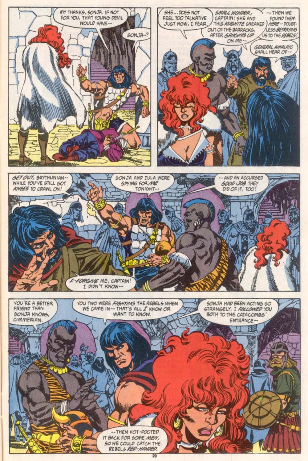 Conan the Barbarian (1970) Issue #246 #258 - English 22