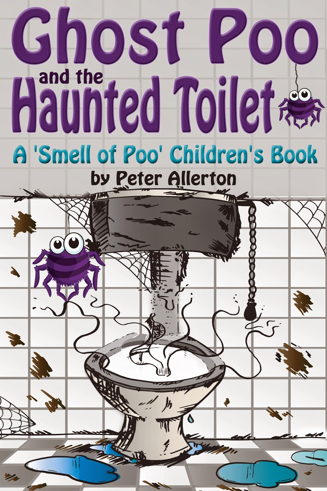 funny ghost children's story book