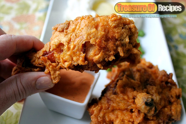 Kentucky Fried Chicken The Super Crispy And Juicy Which Taste Is Much Close Of KFCs Recipe Five Star Hotel Now You Can Make This Luxury