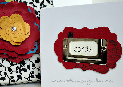 Stampin' Up! Card Keeper Box Sample Idea