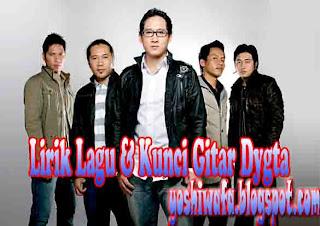 Lirik Lagu dan Chord Kunci Gitar Dygta Jatuh Cinta