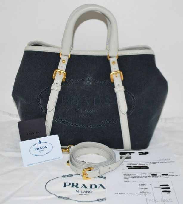 cb7889e7de64 ... new style original handbags in malaysia new prada bauletto denim  jacquard bag 7136c a886e ...