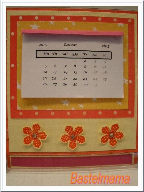 Mini-Kalender, in der CD-Hülle