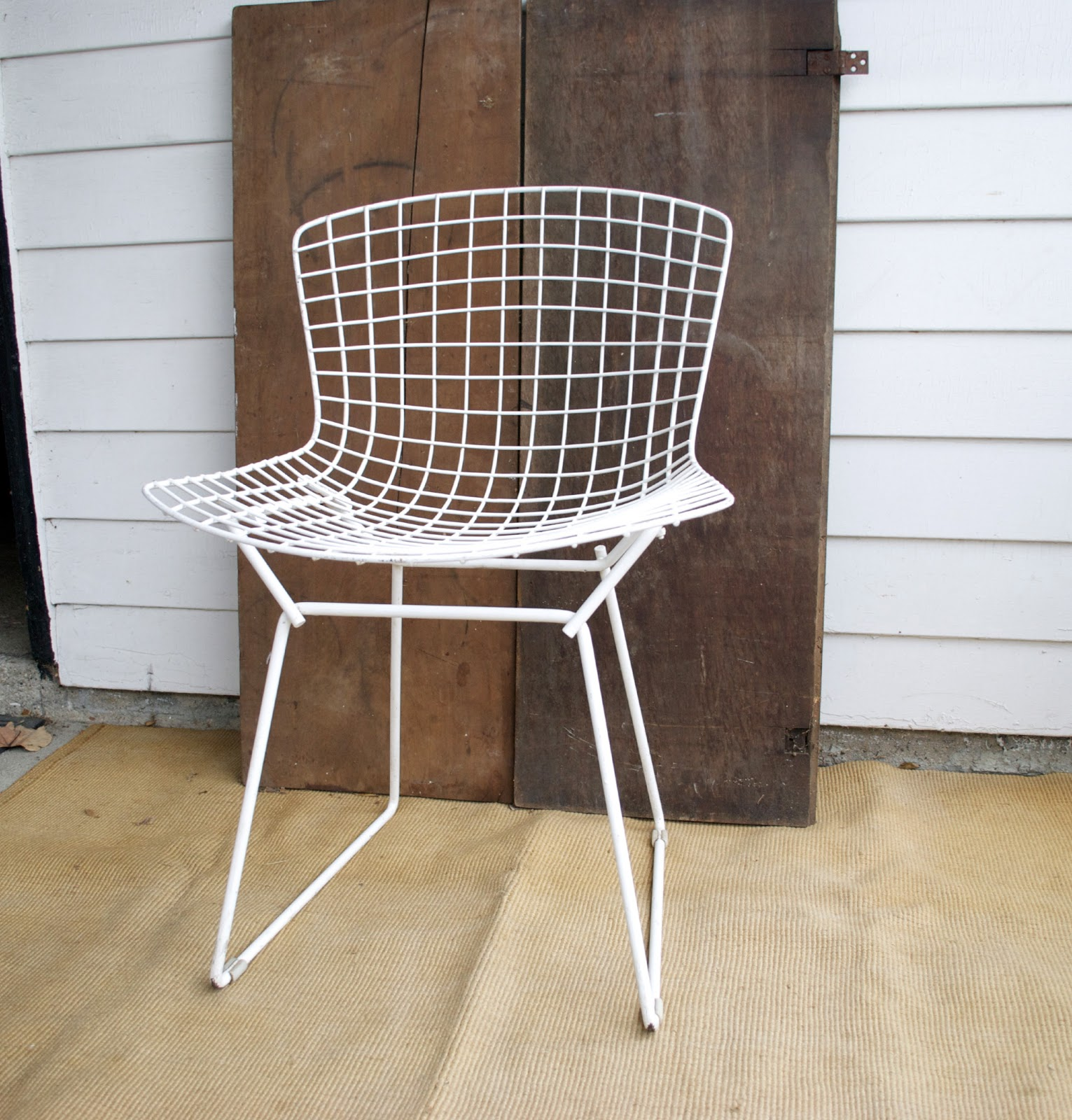 Bertoia Side Chair | Our Designs - Vintage White Knoll Bertoia Side Chair - Vintage White Knoll Bertoia Side  Chair Anestamoby