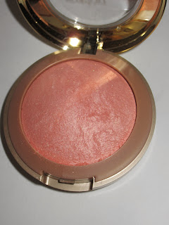 milani luminoso blush review swatch