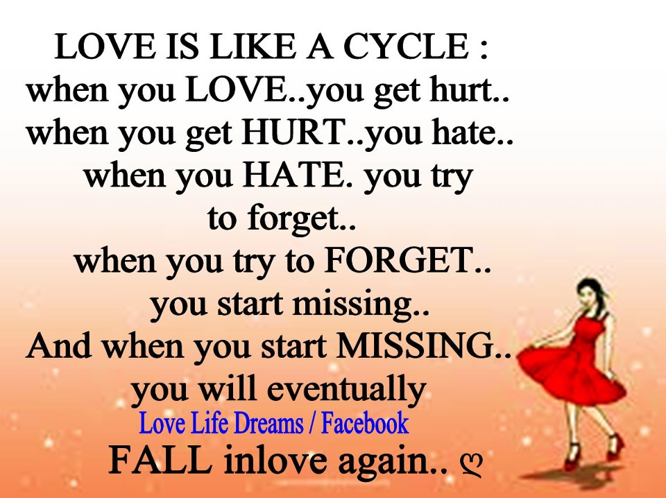 when you love you get hurt