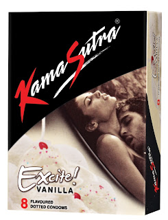 Kamasutra Vanill Flavoured Condoms