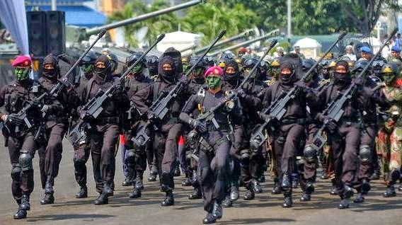 pasukan kopassus indonesia