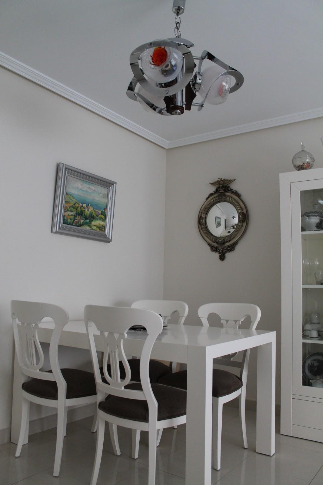 Vintager a espejo imperial convexo color plata ojo de - Espejos color plata ...