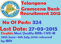 telangana jobs+telangana grameena bank+bank jobs+government jobs