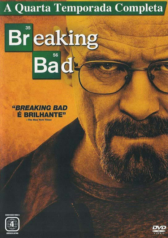 Breaking Bad 4ª Temporada Torrent - BluRay 720p Dual Áudio