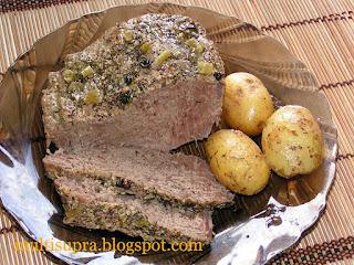 Говядина с молодой картошкой